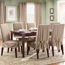 brown chair covers easy and diy dining chair covers the wooden houses