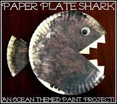 house of burke paper plate ocean creatures