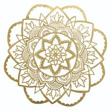 wall stickers for her stickers4walls rose mandala wall sticker