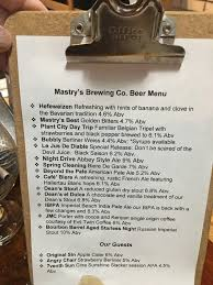 a brewery visit to mastry u0027s brewing co in st pete beach florida