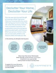 declutter your home declutter your life workshop 01 07 2017