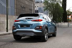hyundai bentley look alike 2018 hyundai kona is a mini suv with big looks and advanced tech