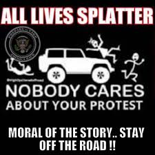 Meme Car - new mexico police union chief shared meme about running protesters