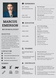 resume templates free for microbiologist microbiologist resume template 5 free word pdf document