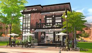 sims4 deli u0026 grocery store 小吃雜貨鋪 ruby u0027s home design my