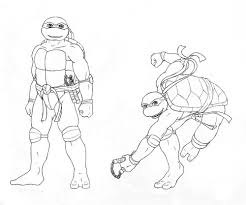 michelangelo coloring pages michelangelo play skateboard coloring