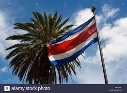 Costarica Flag Costa Rica Flagge San Jose Costa Rica Stockfoto Bild 16921254