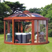 Backyard Gazebos For Sale by Backyard Screened Gazebo Cover Tech Gazebos Gazebos And Screen