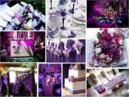 white gold and purple wedding purple chagne colour scheme fantastical wedding stylings