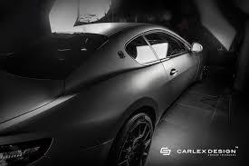 maserati gt matte black maserati granturismo cabin tweaked by carlex design drivers magazine