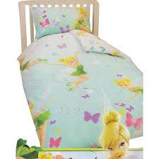 Uk Single Duvet Size Childrens Kids Disney Tinkerbell Quilt Duvet Cover Bedding Set