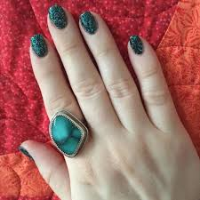 25 dazzling turquoise u0026 butterfly nail designs