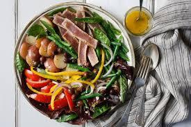 cuisine nicoise salade niçoise with fresh tuna recipe nyt cooking