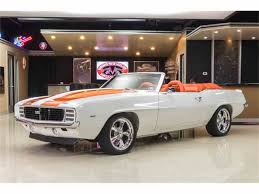 1969 ss camaro convertible for sale 1969 chevrolet camaro rs ss for sale on classiccars com 17 available