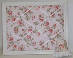 damask pink u0026 brown fabric wood framed memo board by