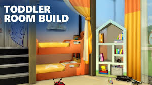 4 Room House by The Sims 4 Room Building Quadruplets Toddler Bedroom Youtube