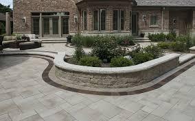 Unilock Walls Brick Paving Landscaping Landscape Contractors Landscape