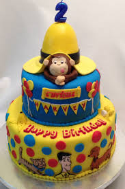 curious george cakes curious george cake by fondant cakes by cakes and toppers