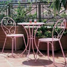 Pink Outdoor Furniture by Gorgeous Pink Wrought Iron Outdoor Furniture Home Sweet Home