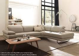 coin canapé canapé d angle natuzzi editions sienne en cuir coin terminal droit