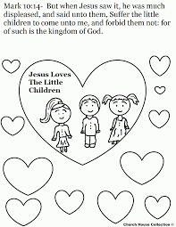 jesus loves me small coloring page coloring home
