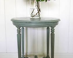 Blue Accent Table Accent Tables Etsy