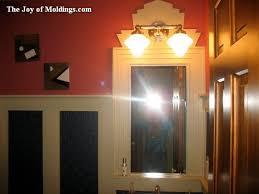 create this art deco powder room for 113 49 the joy of moldings com