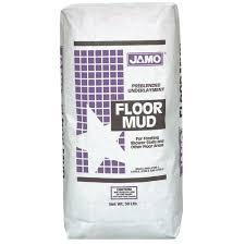 custom building products jamo floor mud 50 lb pre blended