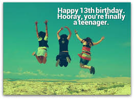 13th birthday wishes birthday messages for 13 year olds