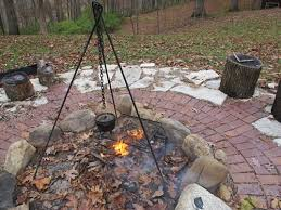 Outdoor Fireplace With Cooking Grill by 50 Best Outdoor Firepits For Cooking Images On Pinterest