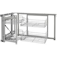 corner kitchen cabinet furniture rev a shelf 5707 15cr