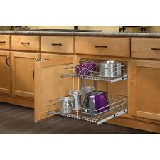 home depot kitchen cabinet organizers rev a shelf 19 in h x 20 75 in w x 22 in d base cabinet