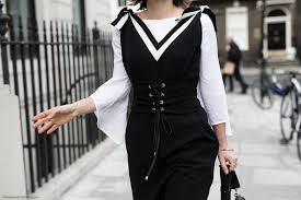 spring trend 2017 how to nail the dresses over pants trend