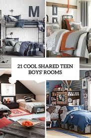 boys shared bedroom ideas 21 cool shared teen boy rooms décor ideas kids bedrooms