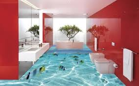 find the 20 creative 3d bathroom floors ideas that incredible