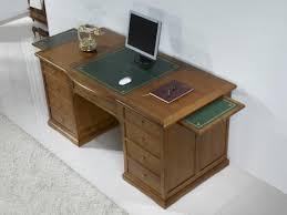 bureau bois occasion superbe bureau ministre spécial informatique en merisier de style