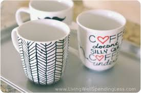 Mug Ideas Diy Coffee Mugs Ideas To Make The Fanciful Forrest With December