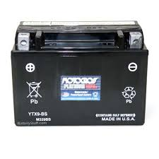 ytx9 bs motocross 12 volt replacement motorcycle battery from yuasa