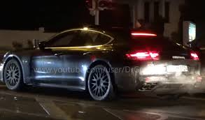 new porsche panamera 2017 2017 porsche panamera hybrid spotted gets new digital dash video