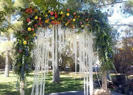 wedding arch las vegas wedding arch with macrame by gaia flowers plants and gifts a