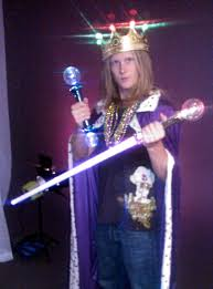 mardi gras cape light up a mardi gras king crown for a royal time