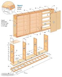 Kitchen Cabinet Blueprints Kitchen Cabinet Plans And Cut List Kitchen