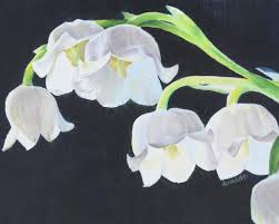 of the valley flower of the valley paintings originals for sale got tats