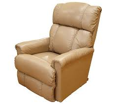 la z boy all leather rocker recliner page 1 u2014 qvc com