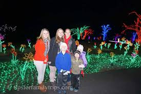 meadowlark gardens winter walk of lights is magical for families