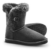 womens winter boots for sale s snowy creek winter boots black 234057 slippers at