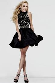 Black Homecoming Dresses With Sleeves Short Black Formal Dresses With Sleeves Naf Dresses