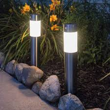 Warm Solar Lights by Lights Com Solar Solar Landscape Frosted Warm White