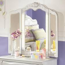 Vanity Mirrors Signature Design By Ashley Zarollina Tri Fold Vanity Mirror With