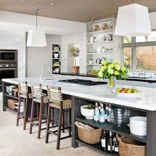 Kitchen Island With Seating And Storage Kitchen With Island Seating Dimensions Breakfast Bars Kitchens